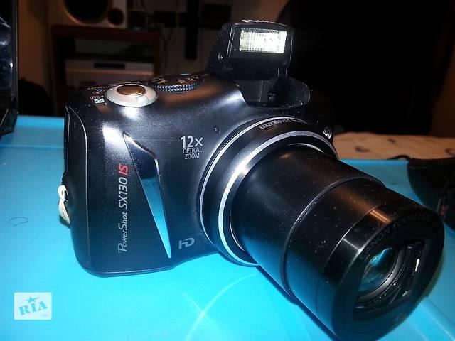 продам Цифровой фотоаппарат Canon PowerShot SX130 - Суперзум - в Идеале ! бу в Херсоне