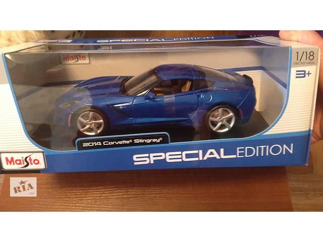 Модель машинки 1:18 Corvette Stingray Maisto новая- объявление о продаже  в Киеве