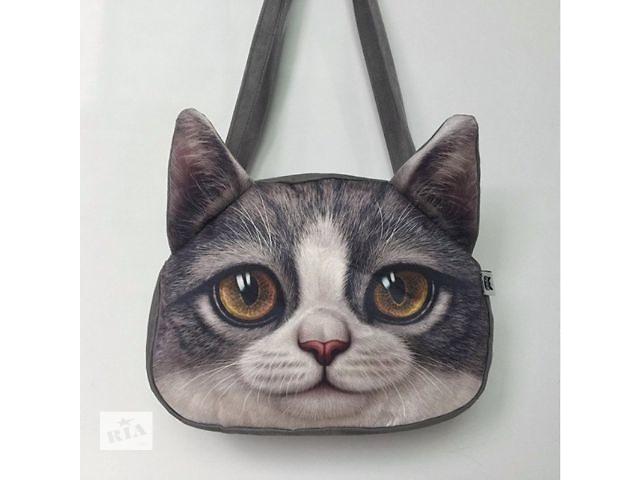 бу Модная женская сумочка с 3D изображением. Распродажа. Цена снижена! в Сумах