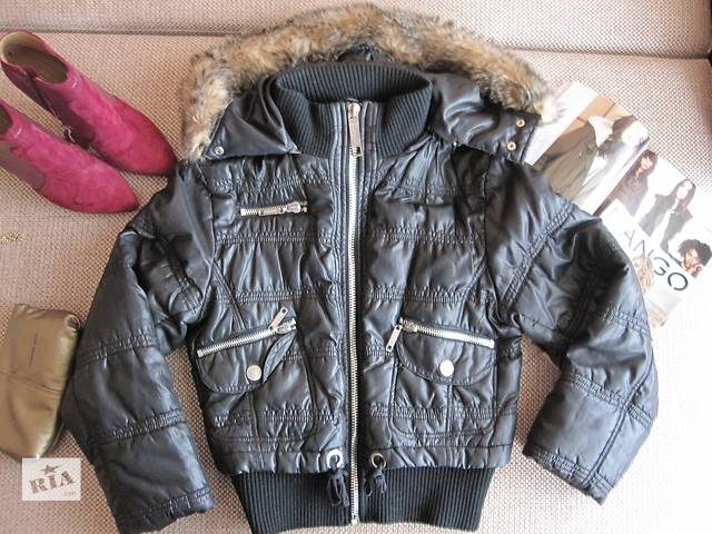 Модная теплая курточка с капюшоном, 44-46 р.- объявление о продаже  в Киеве