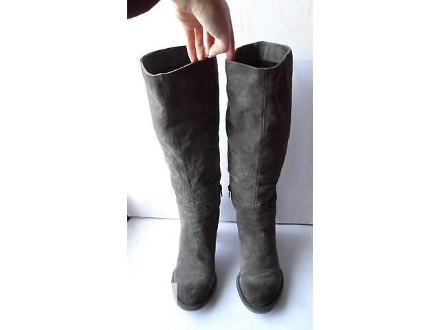 Модно красивые замшевые сапоги от gortz shoes.размер 40- объявление о продаже  в Калуше