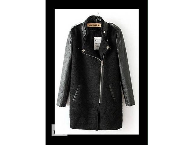 продам Модное пальто-косуха бу в Киеве