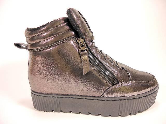 продам Модные, демисезонные ботинки- сникерсы на скрытой танкетке. Размеры 36-41. бу в Хмельницком