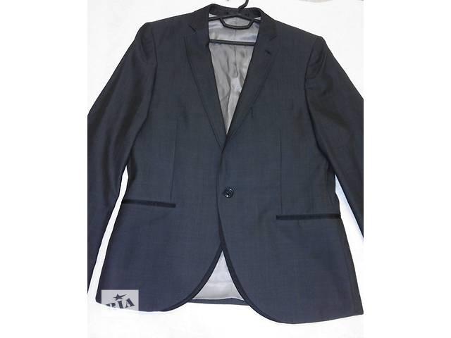 бу Классический серый пиджак, бренд topman в Полтаве
