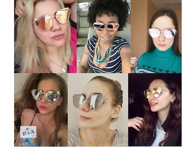 бу Модные солнцезащитные очки 2016 женские Cat Eye известный бренд Dior.  в Днепре (Днепропетровск)