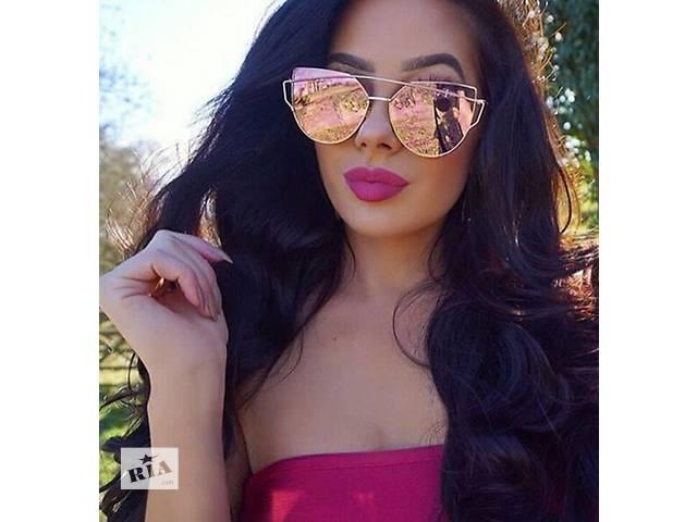 бу Модные солнцезащитные очки 2016 женские Cat Eye известный бренд Dior. 5 разных цвета. в Днепре (Днепропетровск)