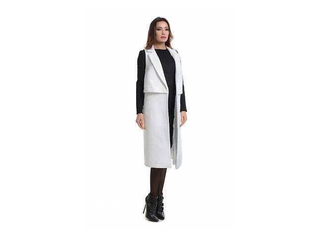 купить бу Молочное пальто арт.14263 в Киеве