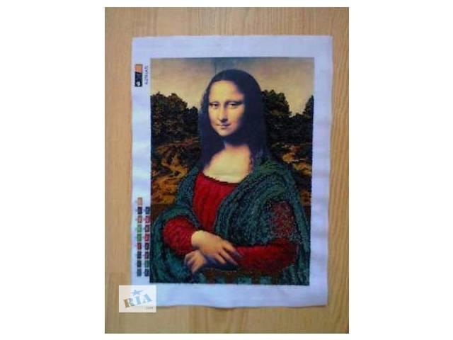 бу Мона Лиза, вышитая чешским бисером в Коломые