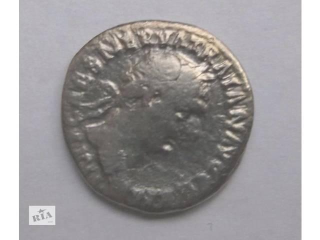 бу Монета денарий Древний Рим император Траян (серебро) редкий ! в Николаеве