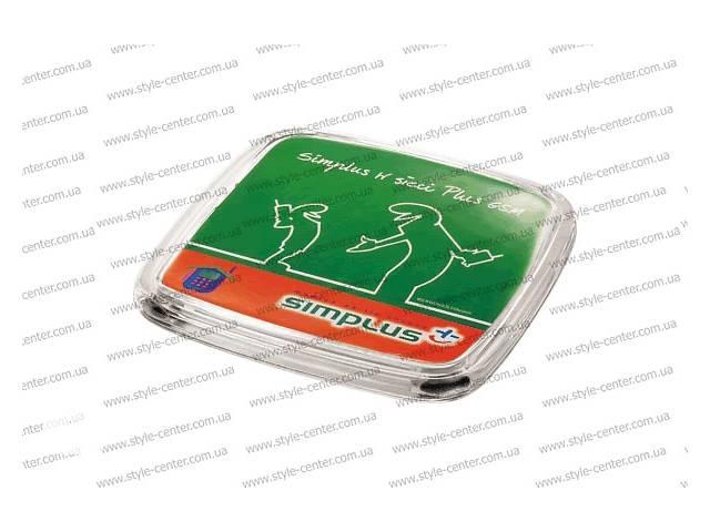 продам Монетница Contact 175х175х15мм,подставка пластиковая для монет Контакт бу в Днепре (Днепропетровск)