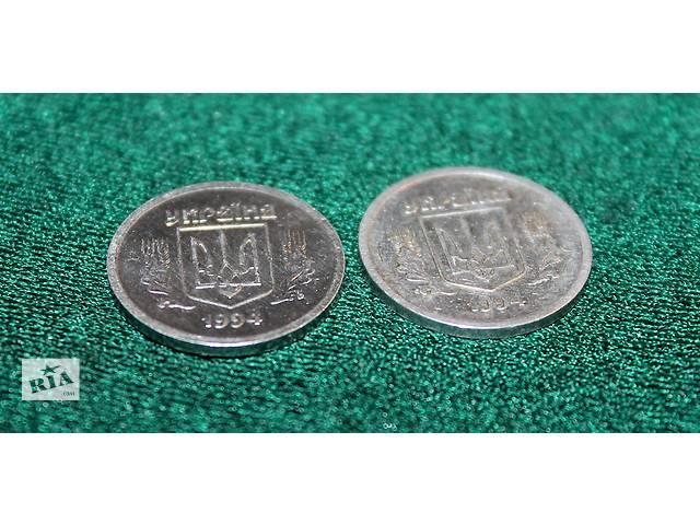 купить бу Монеты 2 копейки 1994 года - 5 штук. Алюминий. (Украина) в Кременчуге