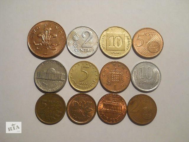 Монеты мира (4 грн./шт.)- объявление о продаже  в Киеве