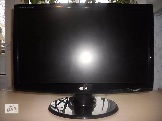 """Монитор LG W2243S 22"""" в идеальном состоянии!FullHD 1920*1080! Монитор!- объявление о продаже  в Львове"""