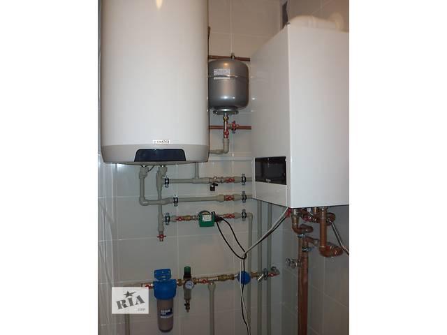 бу Монтаж систем отопления в Одессе