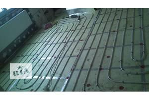 Installation of water floor