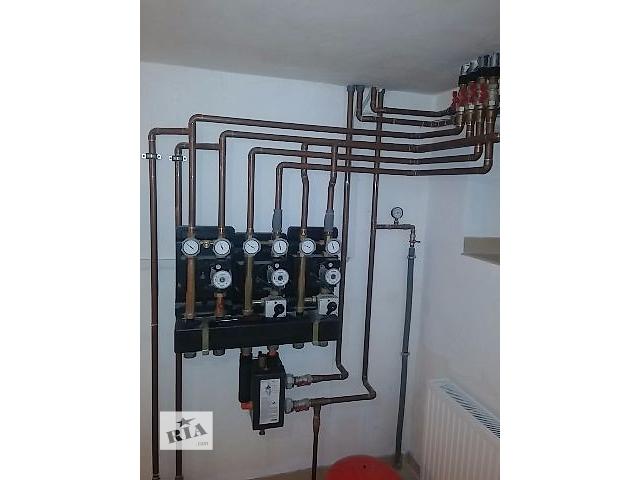 Монтаж систем отопления и водоснабжения- объявление о продаже  в Киеве