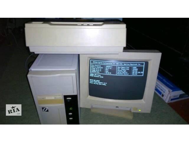 купить бу монитор принтер компьютер в Киеве