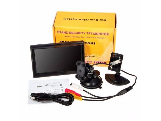 продам Монитор в авто 5,0 дюймов с Универсальными креплениями на стекло и панель бу в Киеве