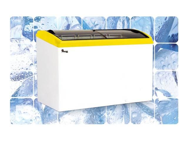 купить бу Морозильный ларь JUKA 333 л, 4 корзины,  с гнутым стеклом в Киеве