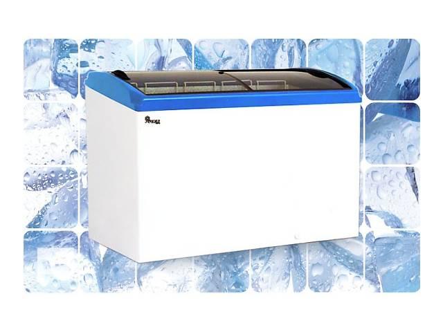 продам Морозильный ларь JUKA 506л, 6 корзин,  с гнутым стеклом бу в Киеве