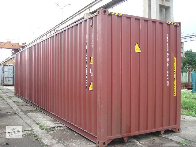 продам Морський контейнер, 40 футів бу в Ровно