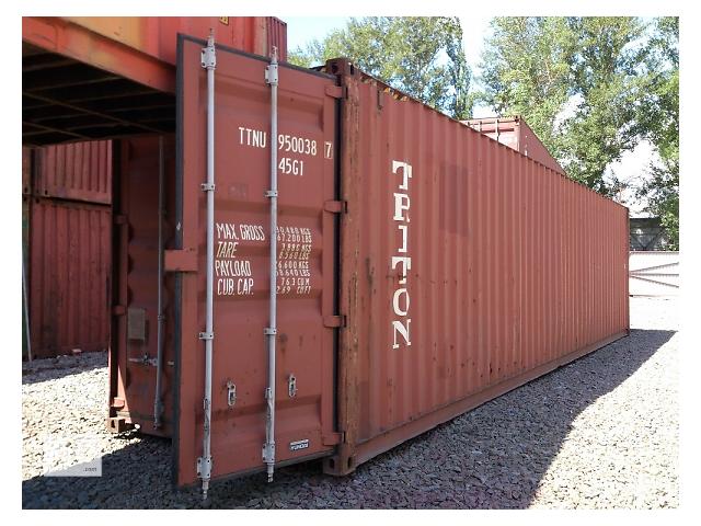 продам Морський контейнер, 40 футів, допоможу з завантаженям та доставкою.  бу в Ровно