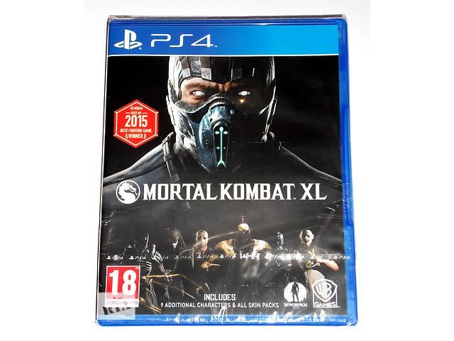 бу Mortal Kombat XL для PS4 новый диск / русский / в наличии в Запорожье