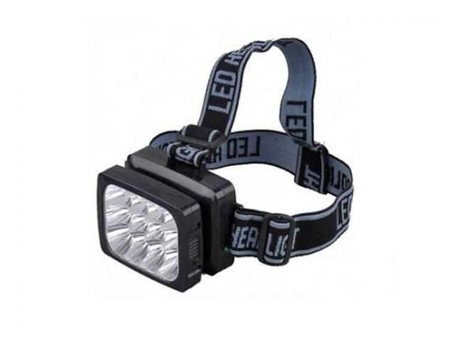 бу Мощный налобный аккумуляторный фонарь \ фонарик на голову. Доставка в Киеве