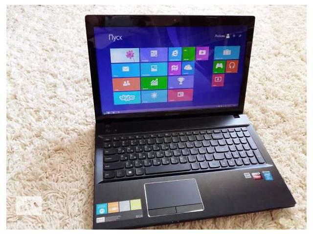 купить бу Мощный ноутбук lenovo G510: Intel 4ядра, AMD Radeon R5 в Одессе