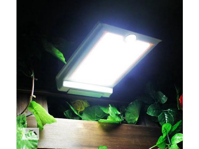 купить бу Мощный уличный светильник на солнечных батареях. Очень качественная сборка! 46 ультра-мощных светодиодов! в Хмельницком