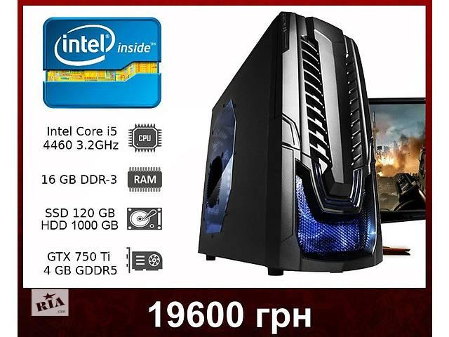 продам Мощный игровой компьютер - i5-4460 3.2GHz / GTX 750 Ti 4GB бу в Днепре (Днепропетровске)