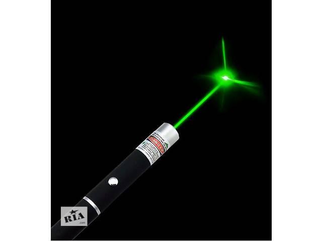 купить бу Мощный зеленый лазер, указка 5 МВт. Доставка по Киеву бесплатно! в Киеве