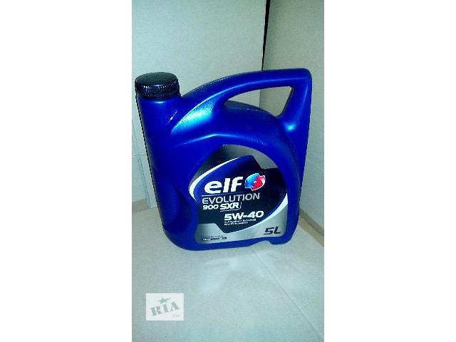 продам Моторное масло Elf Evolution 900 SXR 5w-40    !!! 5литров !!! 100% - оригинал!!! бу в Киеве