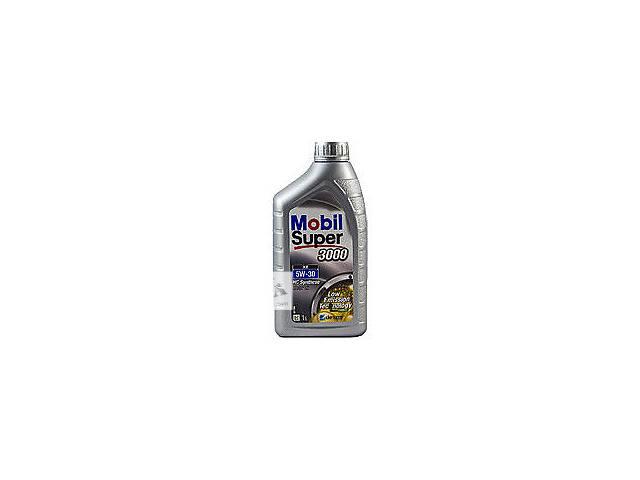 бу Моторное масло синтетическое Mobil Super 3000 XE 5W30 1L в Черновцах