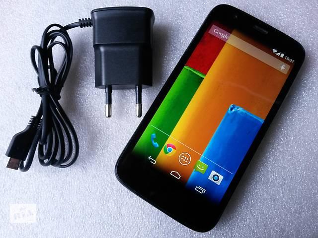 продам Motorola Moto G XT1034 (1Gb оперативка, 4 ядра проц.) 8Gb бу в Львове