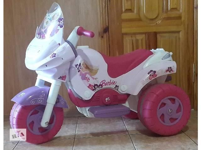 купить бу Мотоцикл Peg-Perego Barbie для девочки в Украинке