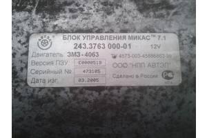 б/у Блоки управления двигателем ГАЗ