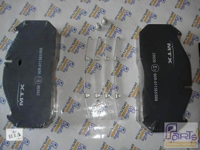 MTX-29030 Тормозные колодки RVI Magnum, MAN MTX-29030- объявление о продаже  в Ровно