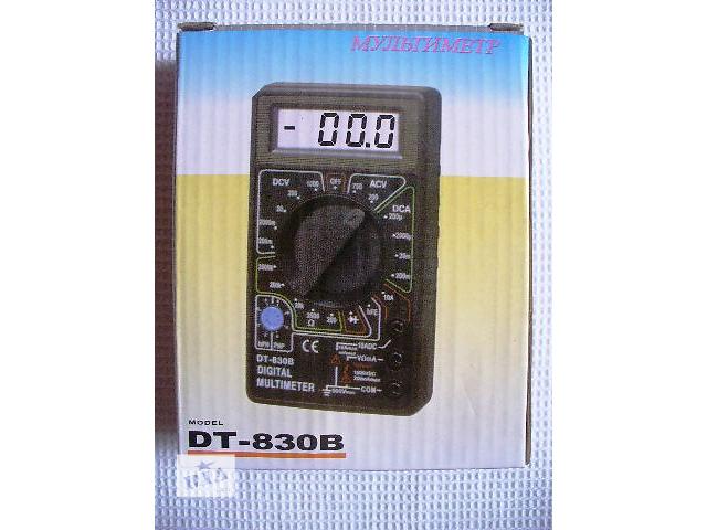 Мультиметр тестер амперметр вольтметр DT-830B- объявление о продаже  в Новомосковске