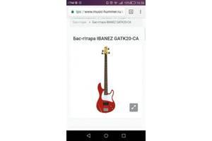 Бас гітари Ibanez