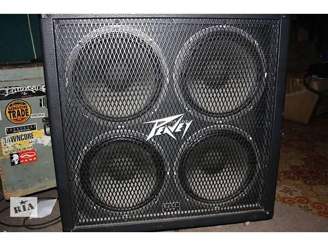 Peavey Sheffield 4x12 cabinet - Музичні інструменти в Запоріжжі на ...