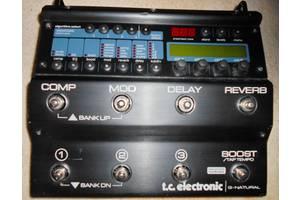б/у Гитарные процессоры TC Electronic