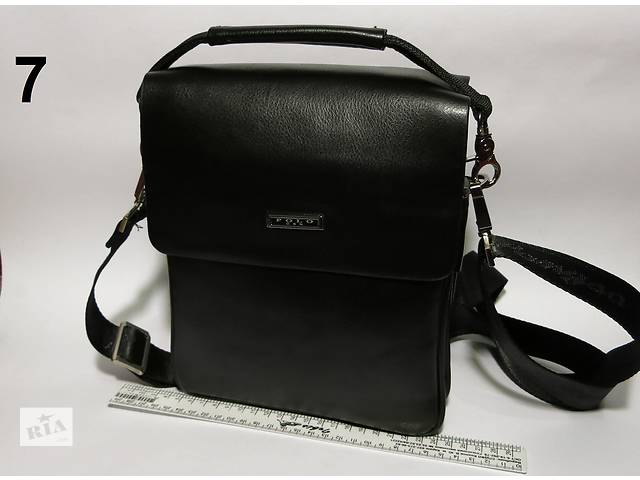 продам Мужская чоловіча кожаная сумка барсетка через плечо Polo арт-1273 бу в Львове