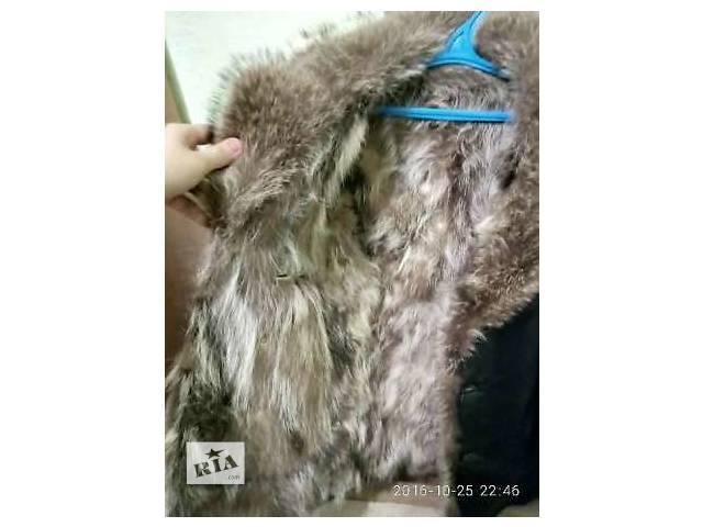 продам мужская кожаная куртка  бу в Киеве