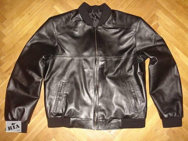 МУЖСКАЯ КОЖАНАЯ куртка- объявление о продаже  в Киеве
