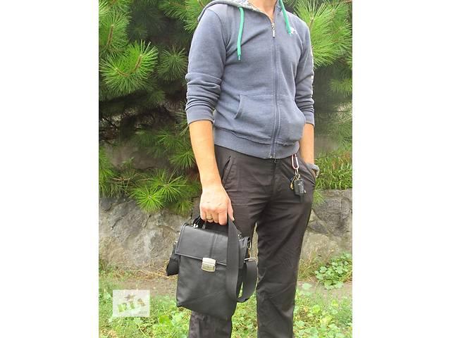 продам Мужская кожаная сумка  бу в Днепре (Днепропетровске)