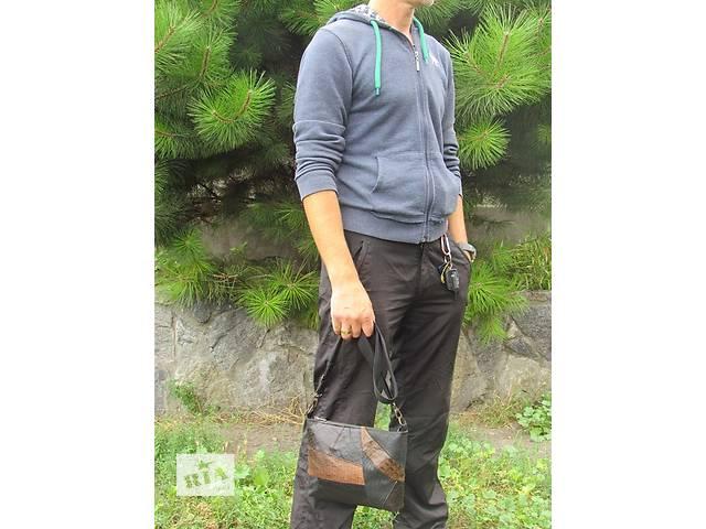 купить бу Мужская кожаная сумка  в Днепре (Днепропетровск)
