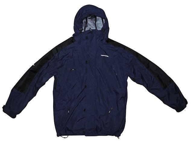 купить бу Мужская куртка 2in1 синяя черная с капюшоном Trespass TP75 tres-tex XL в Полтаве