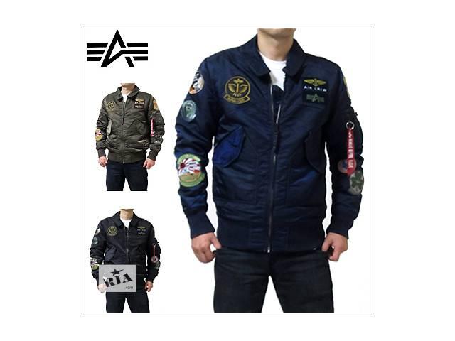 купить бу Мужская куртка ветровка пилот CWU Pilot Х Alpha industries (Альфа индастриз) в Киеве