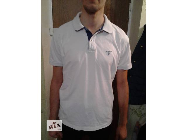 Мужская оригинальная футболка GANT- объявление о продаже  в Сумах